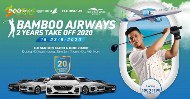 BAMBOO AIRWAYS 2 YEARS TAKE OFF 2020 CHUẨN BỊ KHỞI TRANH – PHẦN THƯỞNG HIO LÀ 20 XE VINFAST
